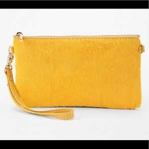 Anthropologie Monserat Pelo Pouch 🐤 Yellow